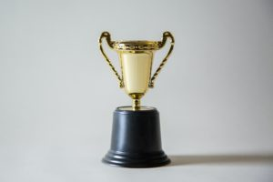 Image of gold trophy