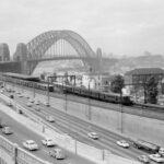 Historic Photograph of Sydney Harbour Bridge