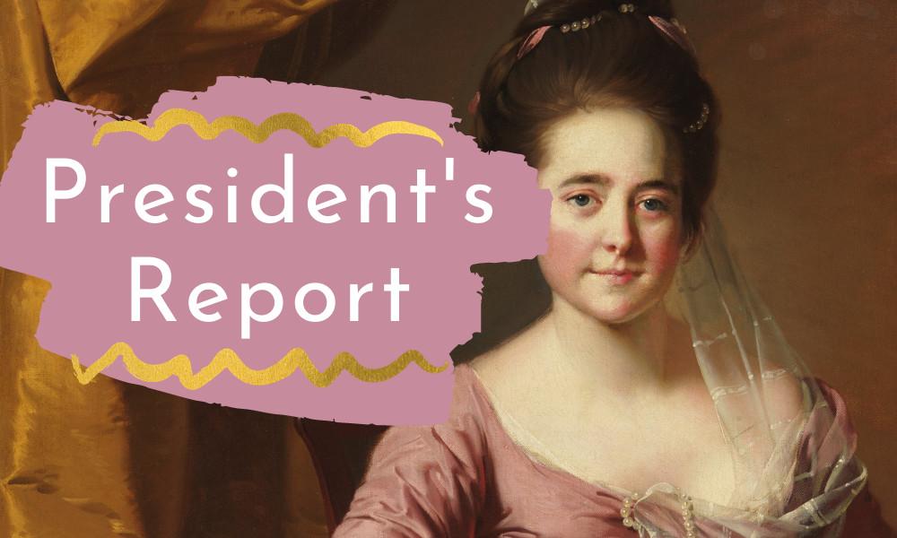 President's Report September 2020
